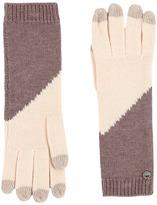 UGG Fine Gauge Color Block Smart Gloves