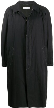 Giorgio Armani Pre Owned 1990s Belted Trench Coat