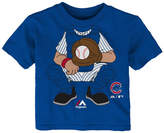 Majestic Chicago Cubs The Batter T-Shirt, Baby Boys (12-24 months)