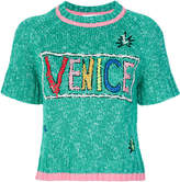 Mira Mikati Venice beach knitted top