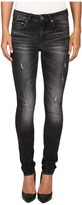 G Star G-Star 3301 High Skinny in Towi Black Stretch Denim Medium Aged Restored 97
