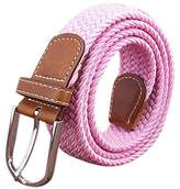 KINDOYO Canvas Stretch Elasticated Woven Belts for Men Women Many Colours Available