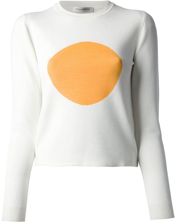 J.W.Anderson circle print sweater