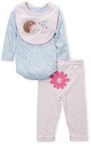 Rene Rofe Newborn Girls) 3-Piece One I Love Bodysuit & Leggings Set