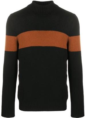 Tagliatore Colour-Block Virgin Wool Jumper