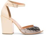 Rachel Comey Leather Coppa Sandals in Neutrals,Metallics.