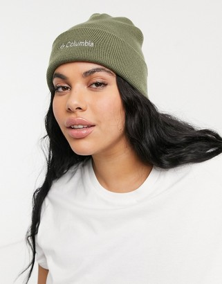 Columbia City Trek heavyweight beanie in green