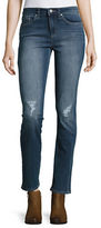 Jessica Simpson Arrow Distressed Straight-Leg Jeans