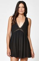 KENDALL + KYLIE Kendall & Kylie V-Neck Button Back Dress