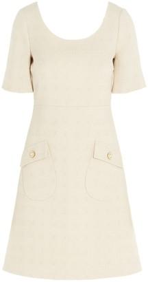Gucci Short Tweed Dress