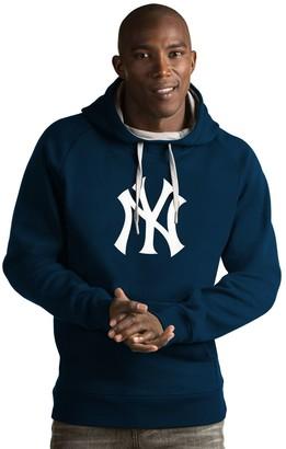 Antigua Men's New York Yankees Victory Logo Hoodie