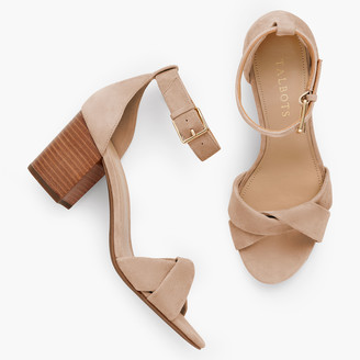 Talbots Beatrice Twist Strap Sandals