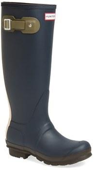 Hunter 'Original - Contrast' Waterproof Rain Boot (Women)