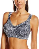 Susa Women's Non-wired Strain-relief Full Figure Bra with Cotton 7982 B 46