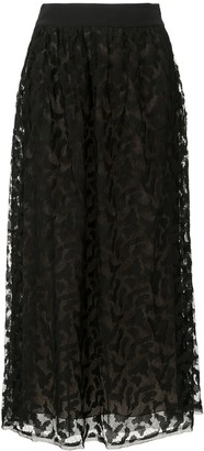 Flavia lace skirt