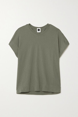 Bassike + Net Sustain Organic Cotton-jersey T-shirt - Green