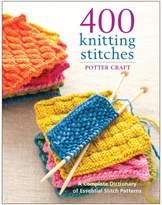 "Random House Potter Craft Books ""400 Knitting Stitches"" Book"