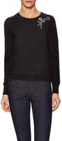 Kate Spade Embellished Crewneck Sweater