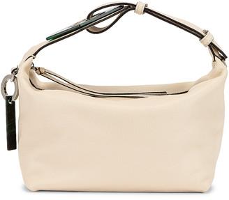 Ganni Leather Bag in Egret | FWRD