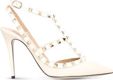 Valentino Rockstud 100 leather courts