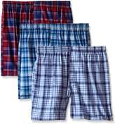 Hanes Men's 3 Pack Comfort Blend Woven Boxer