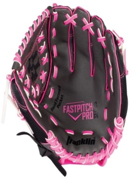"Franklin Sports 12.0"" Mesh Pvc Windmill Series Left Handed Thrower Softball Glove"
