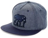 American Needle Indigo Go Cali Snapback Hat