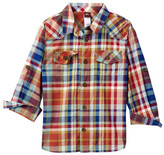 Tea Collection Cerro Plaid Shirt (Toddler, Little Boys, & Big Boys)
