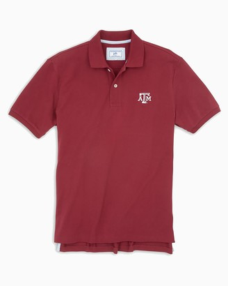 Southern Tide Texas A&M Aggies Pique Polo Shirt