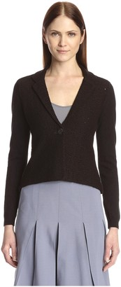Society New York Women's Shrunken Lace Jacket