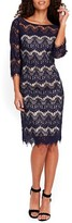 Wallis Women's Scallop Lace Dress