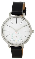 Skagen Women's Hagen Leather Watch