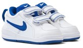 Nike White and Blue Pico 4 Velcro Trainers