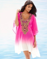 Soma Intimates Embellished Ombre Rose Swim Cover Up