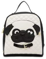 Betsey Johnson Kitsch Dog Mini Backpack
