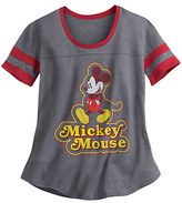 Disney Mickey Mouse Athletic Fashion Tee for Juniors