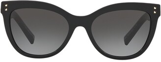 Cat Eye Cat-Eye Frame Sunglasses