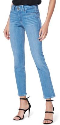Paige Hidden Hills High Waist Ankle Straight Leg Jeans