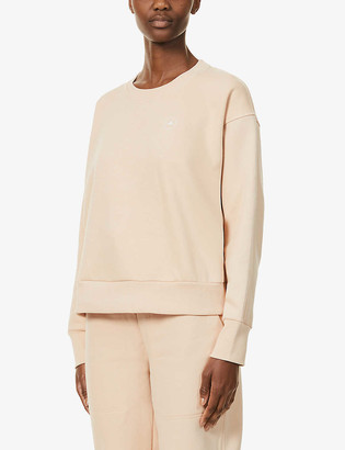 adidas by Stella McCartney Logo-print organic cotton and recycled-polyester blend