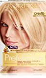 L'Oreal Hair Color Superior Preference Fade-Defying Color + Shine System, 10NB Ultra Natural Blonde (Packaging May Vary)