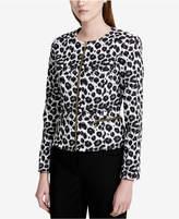 Calvin Klein Animal-Print Jacket