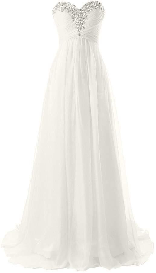 6e9db9ad0b2 Ivory Strapless Wedding Dress - ShopStyle Canada