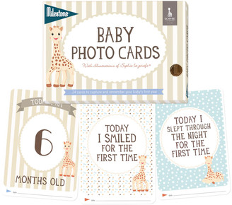 Sophie la Girafe Milestone Baby Photo Cards