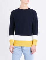Tommy Hilfiger Contrast panel knitted jumper
