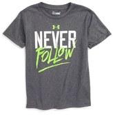 Under Armour Never Follow HeatGear ® T-Shirt (Toddler Boys & Little Boys)