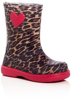 Igor Girls' Leopard Print Rain Boots - Toddler, Little Kid