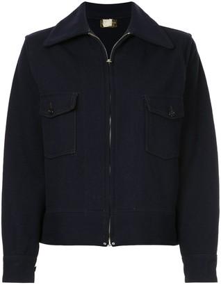 Fake Alpha Vintage 1930s L. L. Bean collared jacket