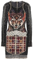 Balmain Beaded minidress