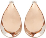 Charlotte Chesnais Petal pink-gold plated earrings