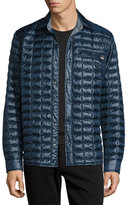 The North Face Reyes ThermoBall Quilted Shirt Jacket, Navy